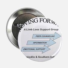 """Moving Forward Logo 2.25"""" Button"""