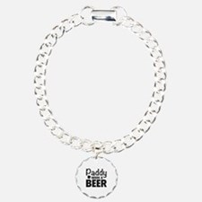 Paddy Needs A Beer Charm Bracelet, One Charm