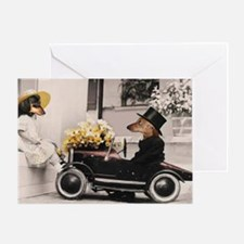 Old Fashioned Love Doxies Greeting Card