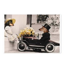 Old Fashioned Love Doxies Postcards (Package of 8)