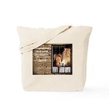 Cute Curly Tote Bag
