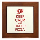 Pizza Framed Tiles