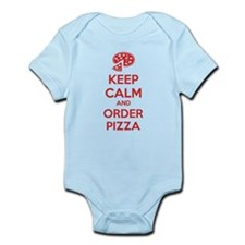 Keep calm and order pizza Infant Bodysuit