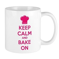 Keep calm and bake on Mug