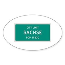 Sachse, Texas City Limits Decal