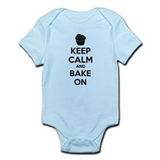 Keep calm and bake on Infant Bodysuit