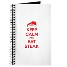 Keep calm and eat steak Journal