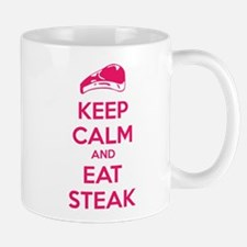 Keep calm and eat steak Mug