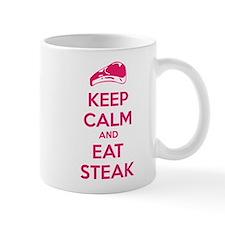 Keep calm and eat steak Mug