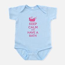 Keep calm and have a bath Infant Bodysuit