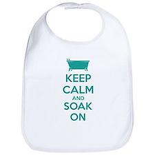 Keep calm and soak on Bib