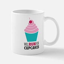 Will Run for Cupcakes Mug
