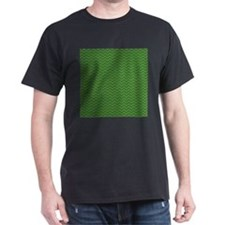 Green Chevrons T-Shirt