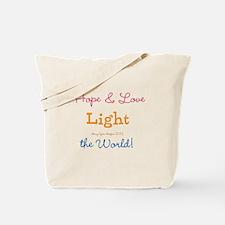 Hope & Love Tote Bag
