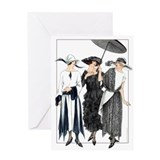 Art deco greeting cards Greeting Cards