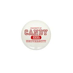 Candy University Mini Button