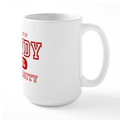 Candy University Large Mug