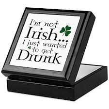 I'm Not Irish Keepsake Box