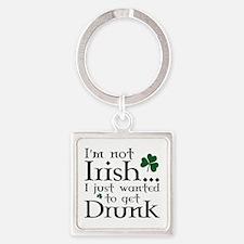 I'm Not Irish Square Keychain