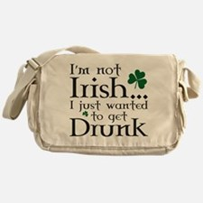 I'm Not Irish Messenger Bag