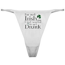 I'm Not Irish Classic Thong