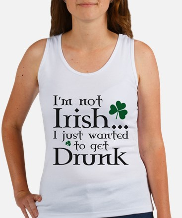 I'm Not Irish Women's Tank Top