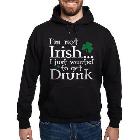 I'm Not Irish Hoodie (dark)