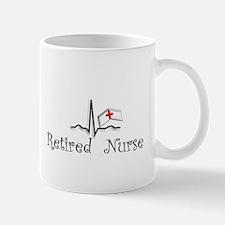 Retired Nurse QRS Mugs