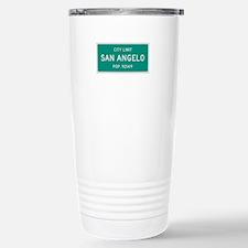 San Angelo, Texas City Limits Travel Mug