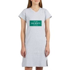 San Benito, Texas City Limits Women's Nightshirt