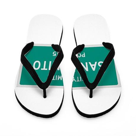 San Benito, Texas City Limits Flip Flops