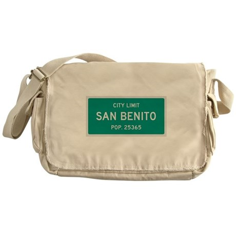 San Benito, Texas City Limits Messenger Bag