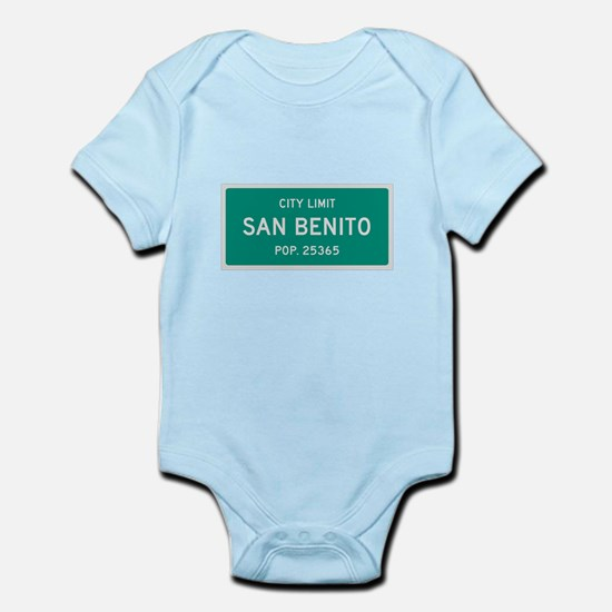 San Benito, Texas City Limits Body Suit