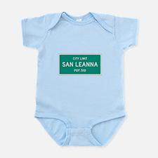 San Leanna, Texas City Limits Body Suit