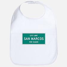 San Marcos, Texas City Limits Bib