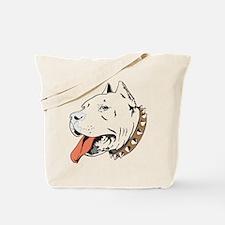Pitbull Tote Bag