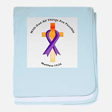Unique Cystic fibrosis baby blanket