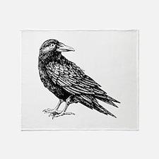 Raven Throw Blanket