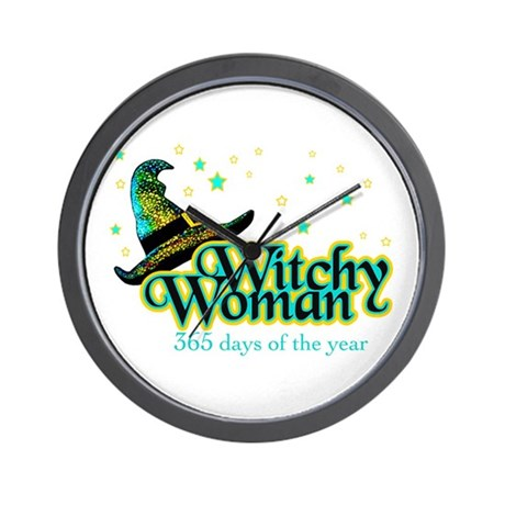 Witchy Woman 365 Wall Clock