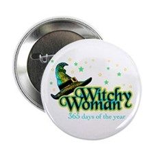 """Witchy Woman 365 2.25"""" Button (100 pack)"""