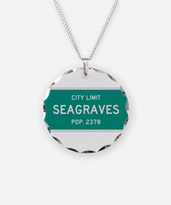 Seagraves, Texas City Limits Necklace
