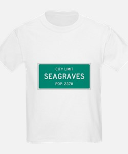 Seagraves, Texas City Limits T-Shirt