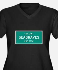 Seagraves, Texas City Limits Plus Size T-Shirt