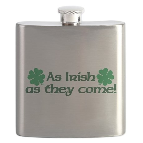 As Irish As They Come Flask