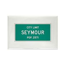 Seymour, Texas City Limits Rectangle Magnet