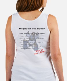 Why jump out of an airplane Women's Tank Top
