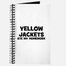 Yellow Jackets Ate My Homewor Journal
