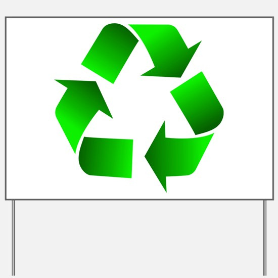 Recycle Yard Sign