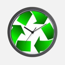 Recycle Wall Clock