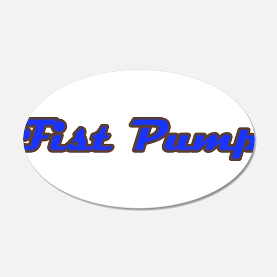 Fist Pump Wall Decal
